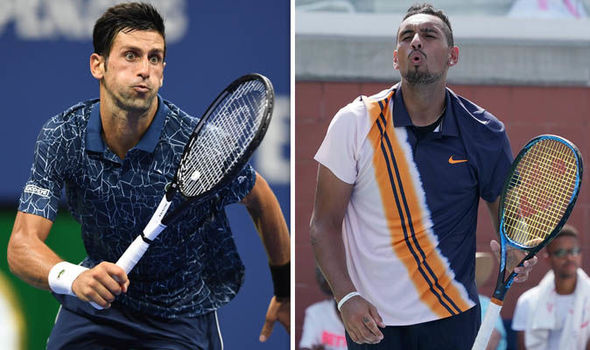 Nick Kyrgios trolls Djokovic in the US Open 2019