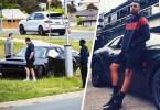 Nick Kyrgios car destroyed in $300,000 Dodge Challenger SRT Demon