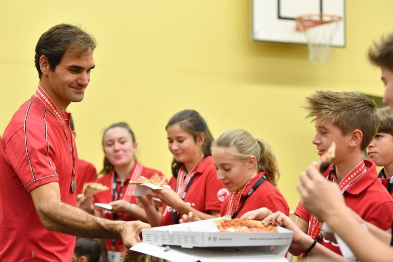 Roger Federer reveals how being a ball boy inspired him