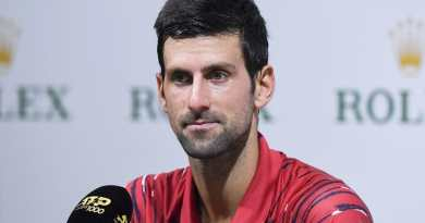 Novak Djokovic gives an update about elbow injury after Shanghai