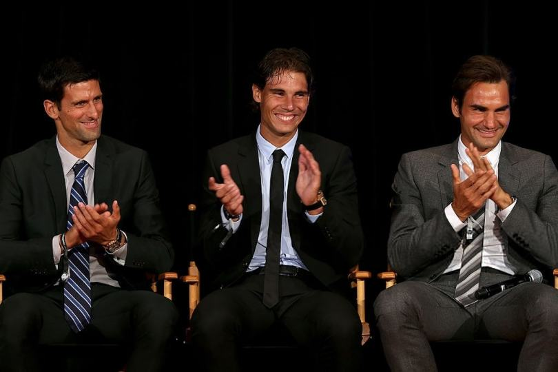Roger Federer reveals why Nadal and Djokovic deserve respect