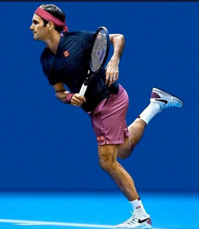 Roger Federer Australian Open 2020 Outfit Tennis Shot