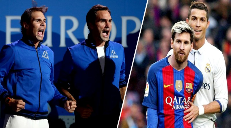 Rafael Nadal refuses the comparison with Federer to Ronaldo and Messi