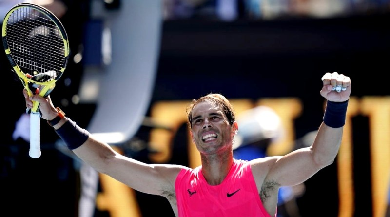Rafael Nadal reveals happiness after winning R1