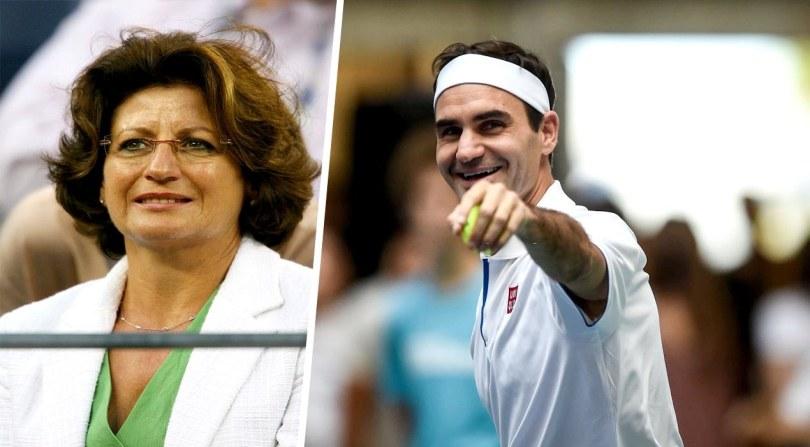 Roger Federer's mother reveals a secret about him