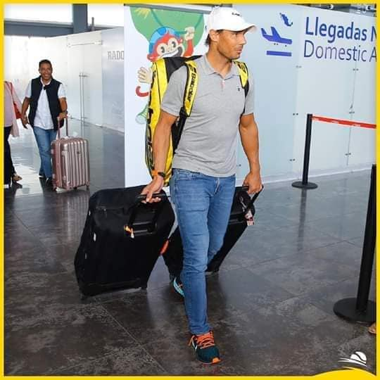 Rafael Nadal Arrives At Acapulco Pictures Tennis Shot