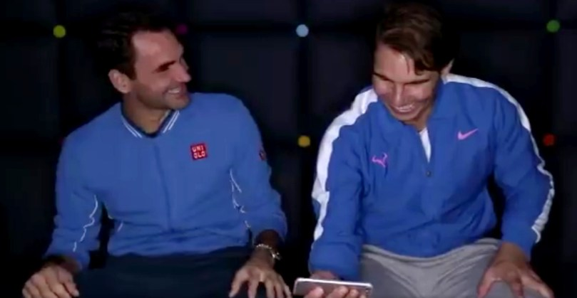 Rafael Nadal jokes Roger Federer ahead of Match for Africa