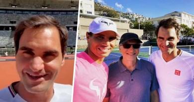 "Roger Federer Trolls back Rafael Nadal ""Orange but not Clay"""