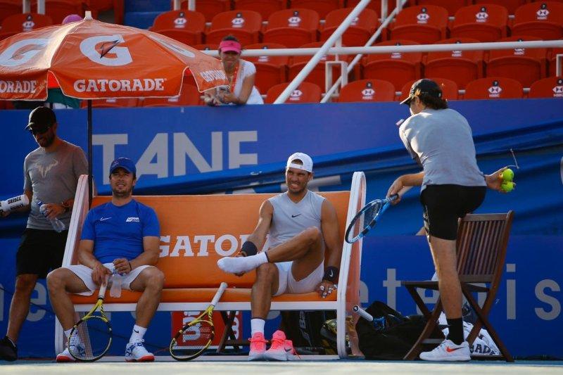 Rafael Nadal Practice at ATP Acapulco 2020