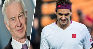John McEnroe sent a message to the world because of Federer's injury
