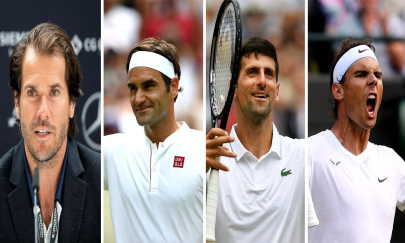 Tommy Haas gives verdict about Nadal, Djokovic, Federer in Grand Slam
