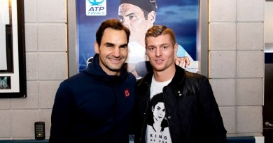 "Toni Kroos ""it's not hard for me to be a fan of Roger Federer."""