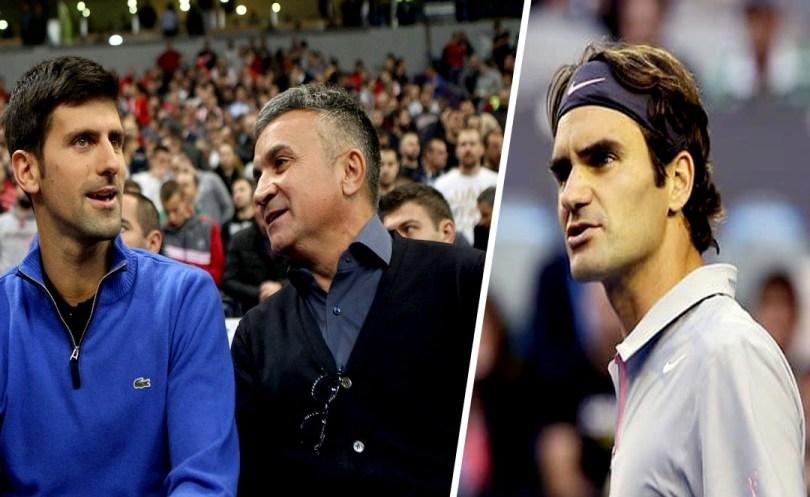 Novak Djokovic father attack Roger Federer 'he can go home'