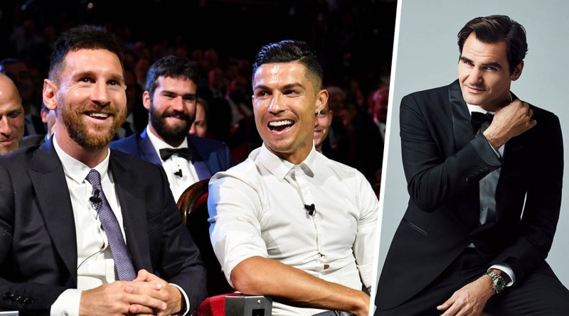 Roger Federer surpass Ronaldo and Messi as sports' top earner