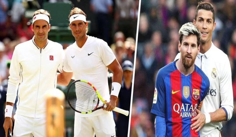 """Federer is like Messi and Rafa is like Ronaldo"" Federer and Nadal finally answer"