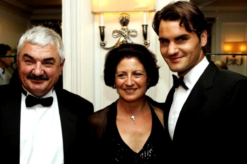 Roger Federer reveals a secret about his parents