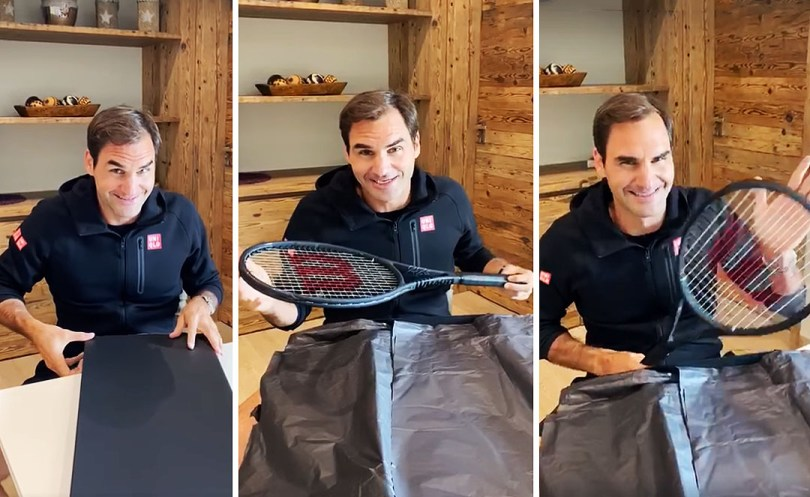 Roger Federer announces his new Racket of 2021