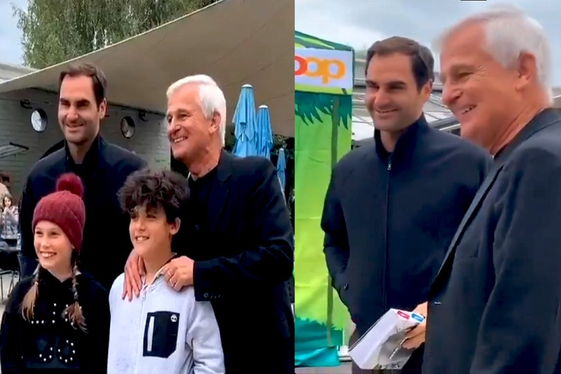 WATCH: Roger Federer visits the Zoo with his kids in Amazing day