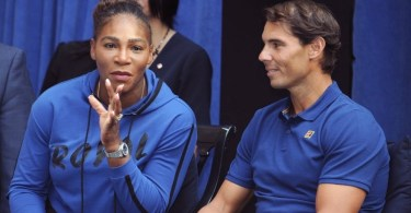 Rafael Nadal sends a message to Serena Williams after the injury