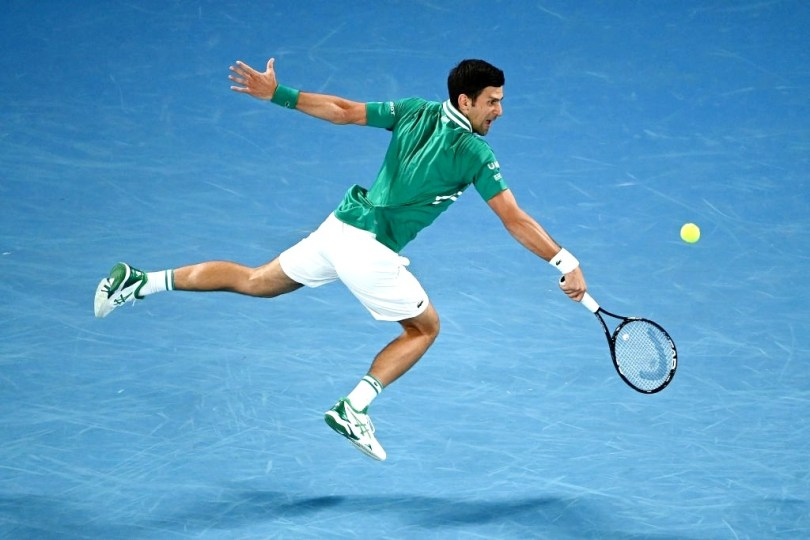 Novak Djokovic Vs Chardy - Australian Open 2021 Highlights