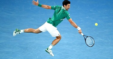 Novak Djokovic Vs Chardy - Australian Open 2021 Highlights
