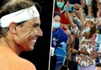 This is the real reason why the lady show the finger to Rafael Nadal ' not happy '