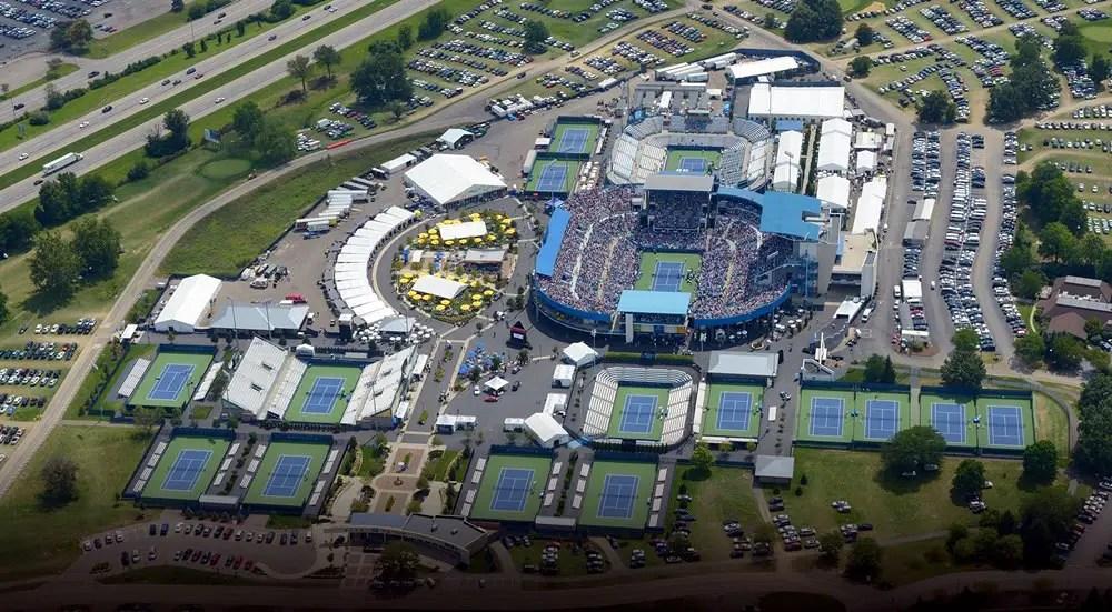 Lindner Family Tennis Center Grounds