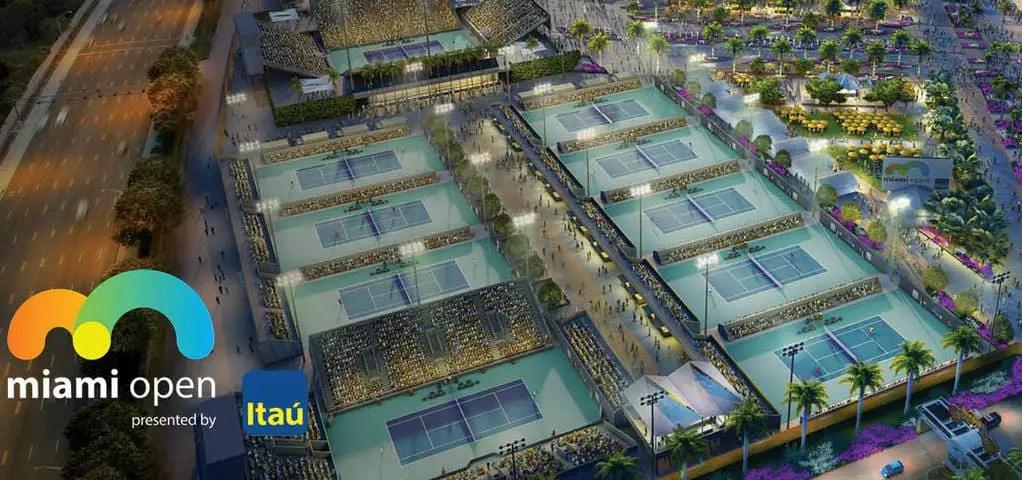 Hard Rock Stadium Tennis Grounds Map