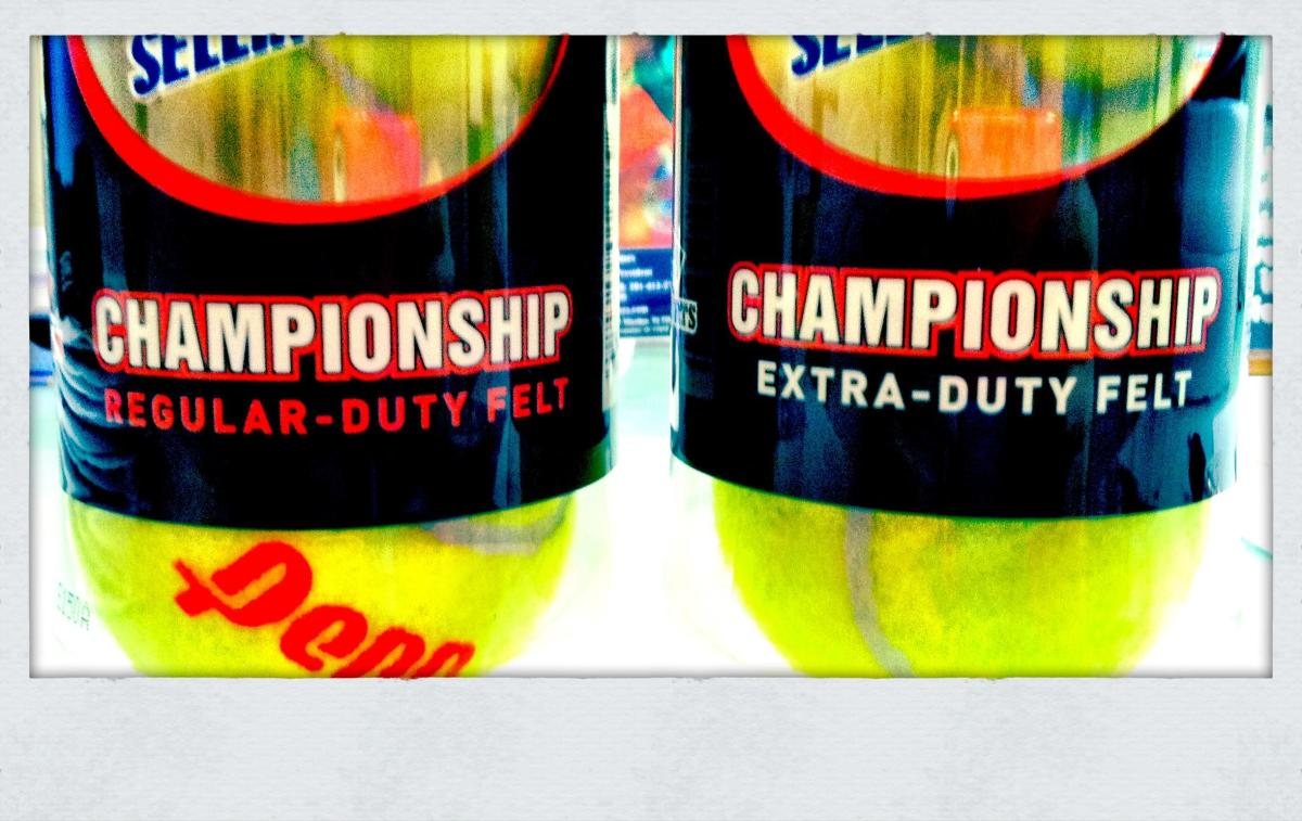 What's The Difference Between Regular And Extra Duty Tennis Balls?