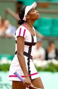 Venus Is Out Too! – Venus Williams Out Of 2012 French Open