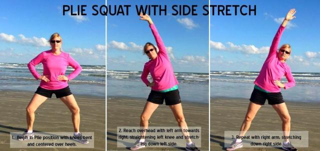 Dynamic Warm-Up For Tennis - Plie Squat