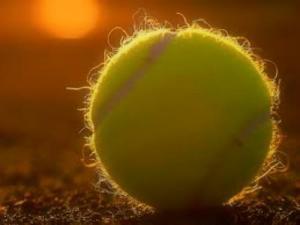 Tennis Ball Clay Court