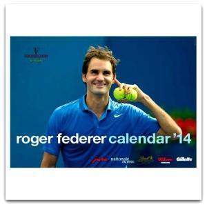 Tennis Express - Roger Federer 2014 Calendar