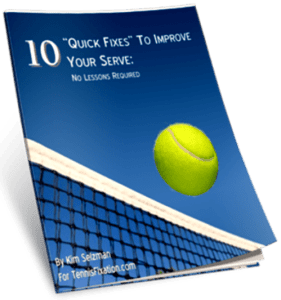 10 Quick Fixes to Improve Your Serve