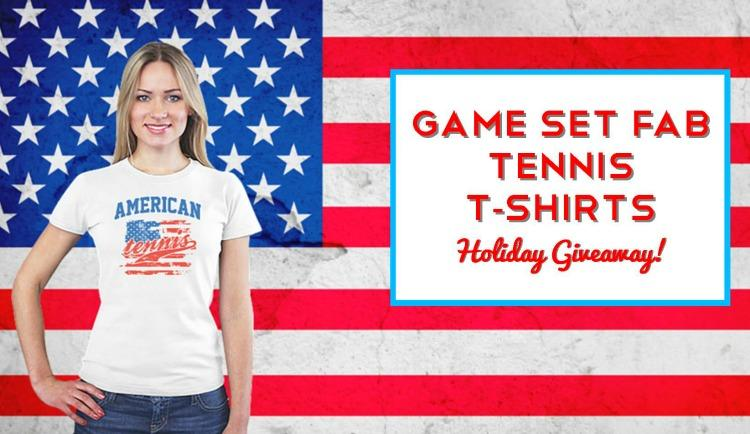 Game Set Fab Tennis T-Shirt Giveaway