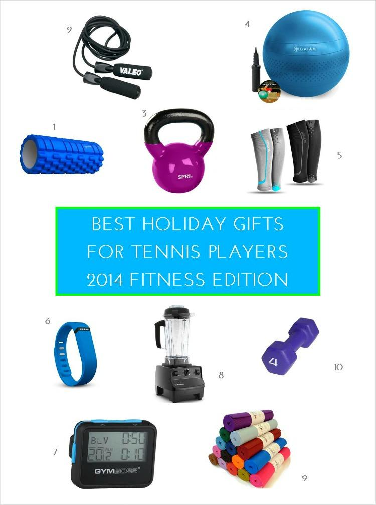 Gift Guide for Tennis Players - Fitness Gifts