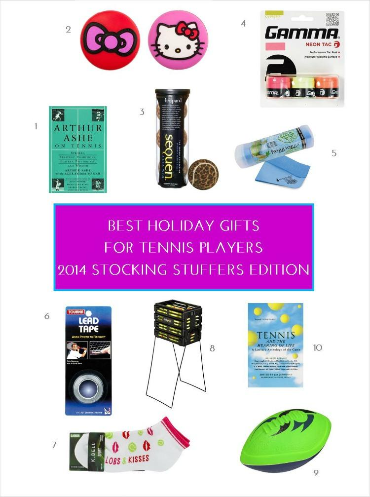 Best Holiday Gifts For Tennis Players – 2014 Stocking Stuffers