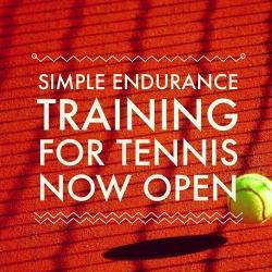Simple Endurance Training for Tennis