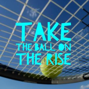 Simple Tennis Tip – Take The Ball On The Rise