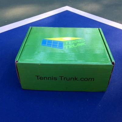 Tennis Trunk comes in a super cute package