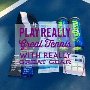 Play Really Great Tennis with Really Great Gear Delivered Right to You