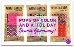 Pops of Color on the Tennis Court and a Holiday Tennis Giveaway – CLOSED