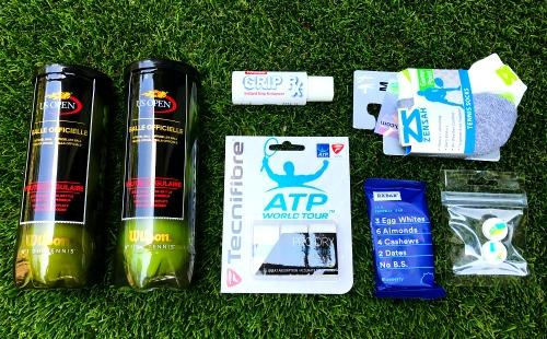 Tennis Trunk 2 Contents