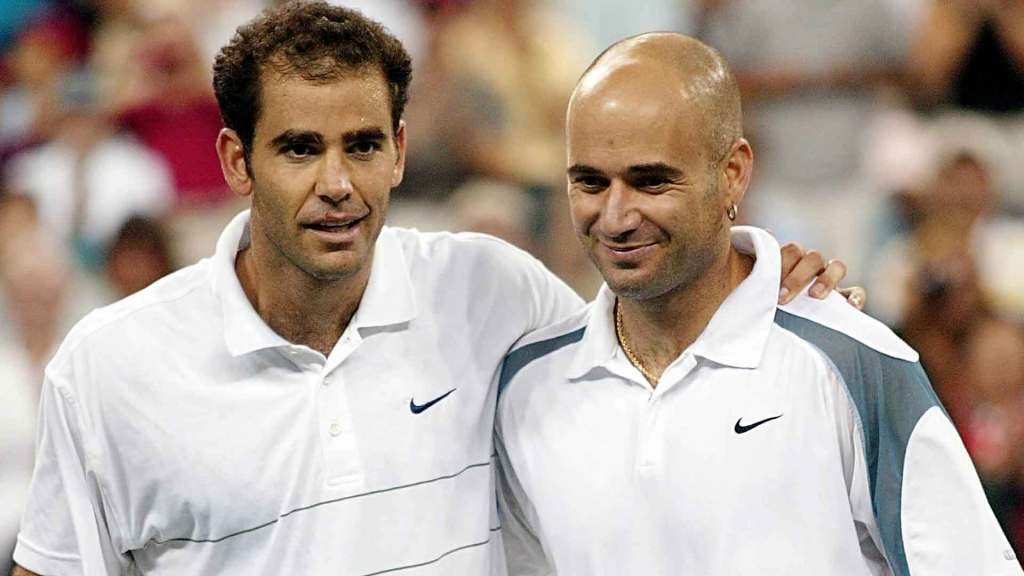 Sampras and Agassi