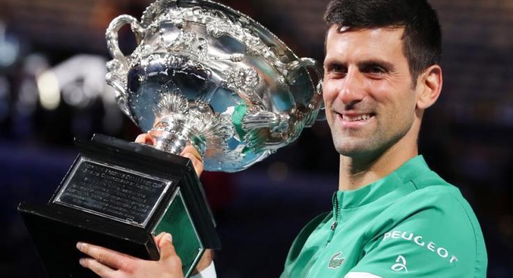 Number 9 For Novak at 2021 Australian Open