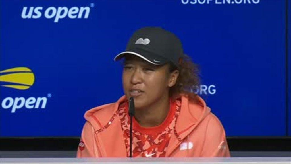 Naomi Osaka   at the US Open 2021