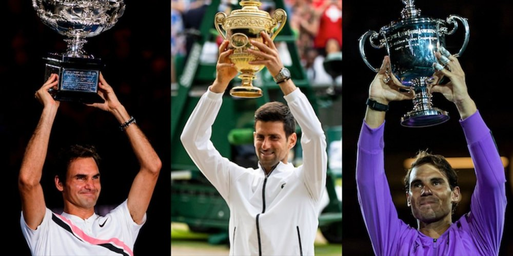 The 'GOAT' race - Comparing Federer, Nadal and Djokovic Slam triumphs