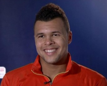 Jo-Wilfried Tsonga haircut 2012 smile pictures photos images
