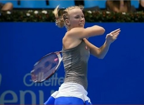 Caro backhand follow-through Gillette Federer tour 2012