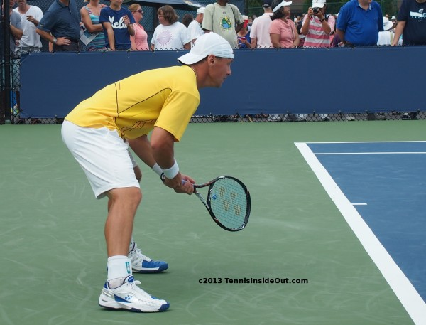 Western and Southern Open Cincinnati Ricardas Berankis return of serve receiving position crouch bent over gorgeous hot ass round bum bottom behind arse  racquet pics